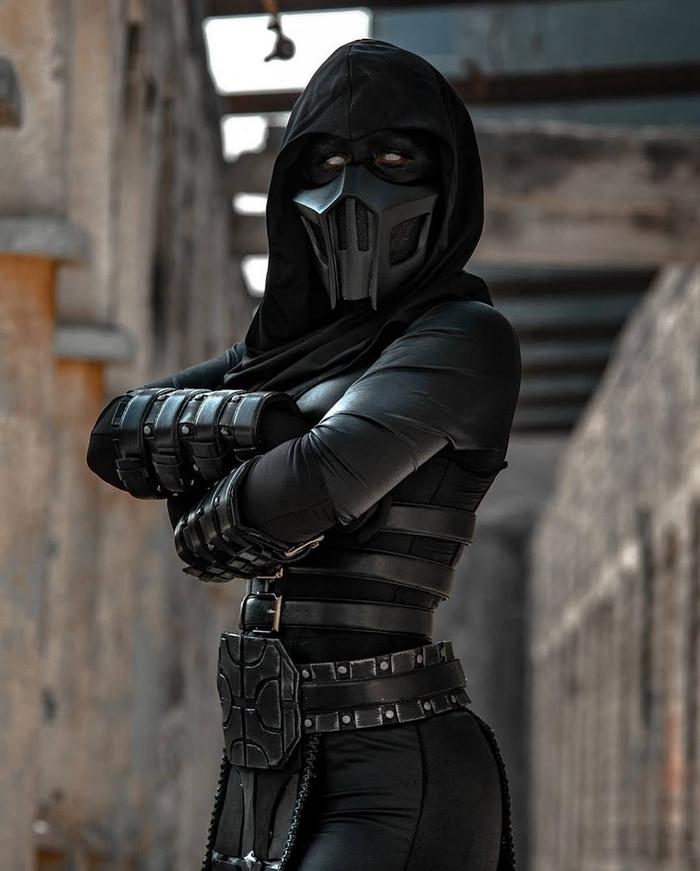 Noob Saibot Косплей, Noob Saibot, Длиннопост, Mortal Kombat