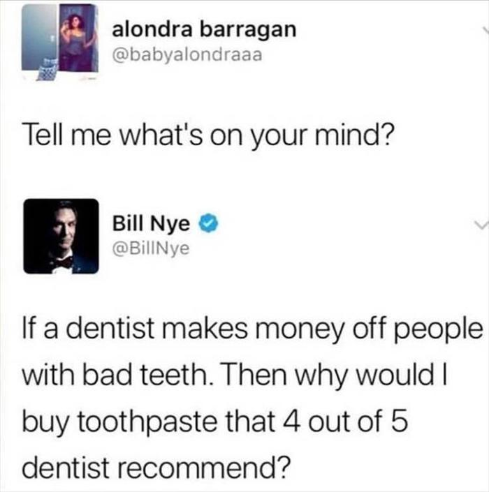 Заговор дантистов. Twitter, Зубы, Зубная паста, Прикол, Стоматолог