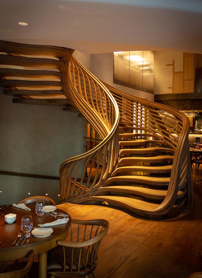 Нескучная лестница Дизайн, Лестница, Интерьер, Длиннопост, Фотография