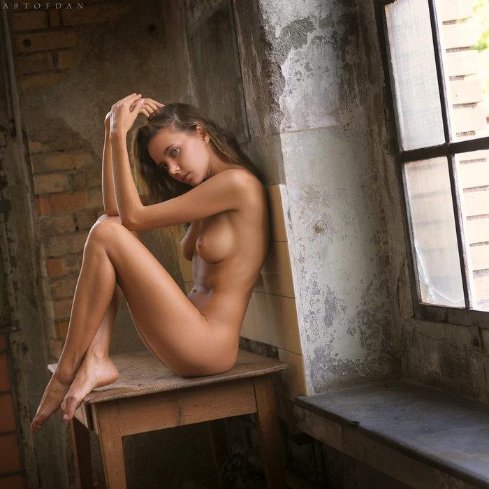 My Place Of Silence Эротика, Красивая девушка, Artofdan