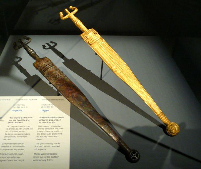 Когда ты кельтский вождь и можешь себе позволить... Лига историков, Хохдорфская гробница, Кельты, Археология, Золотые ботинки, Длиннопост