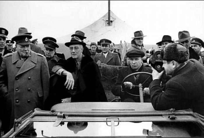 Как советский шофёр спас президента США от гибели. История, Ялтинская конференция, О шофере, Франклин Рузвельт, Разведчик, Судьба, СССР, США, Длиннопост