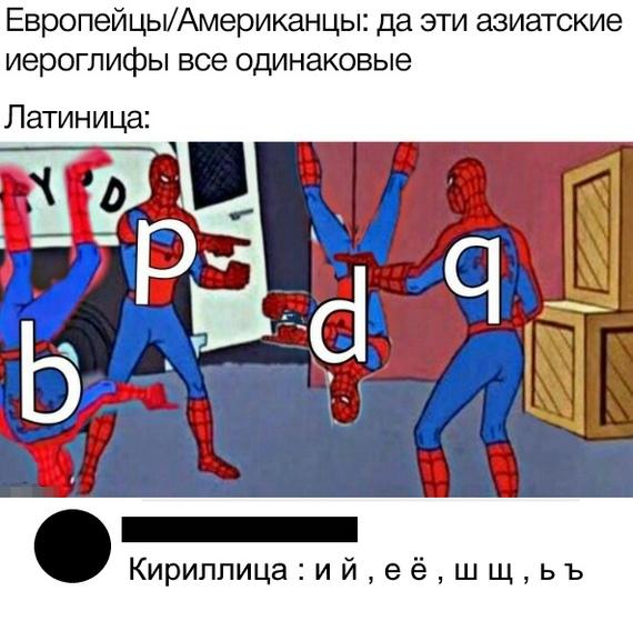 Иероглифы vs алфавит
