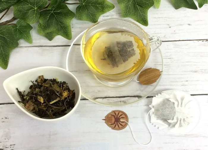Чайный пакетик Чай, Японцы, Длиннопост