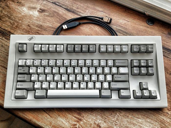 Почему 30-летняя IBM M Model — лучшая механическая клавиатура для компьютера Клавиатура, Механическая клавиатура, Гифка, Видео, Длиннопост