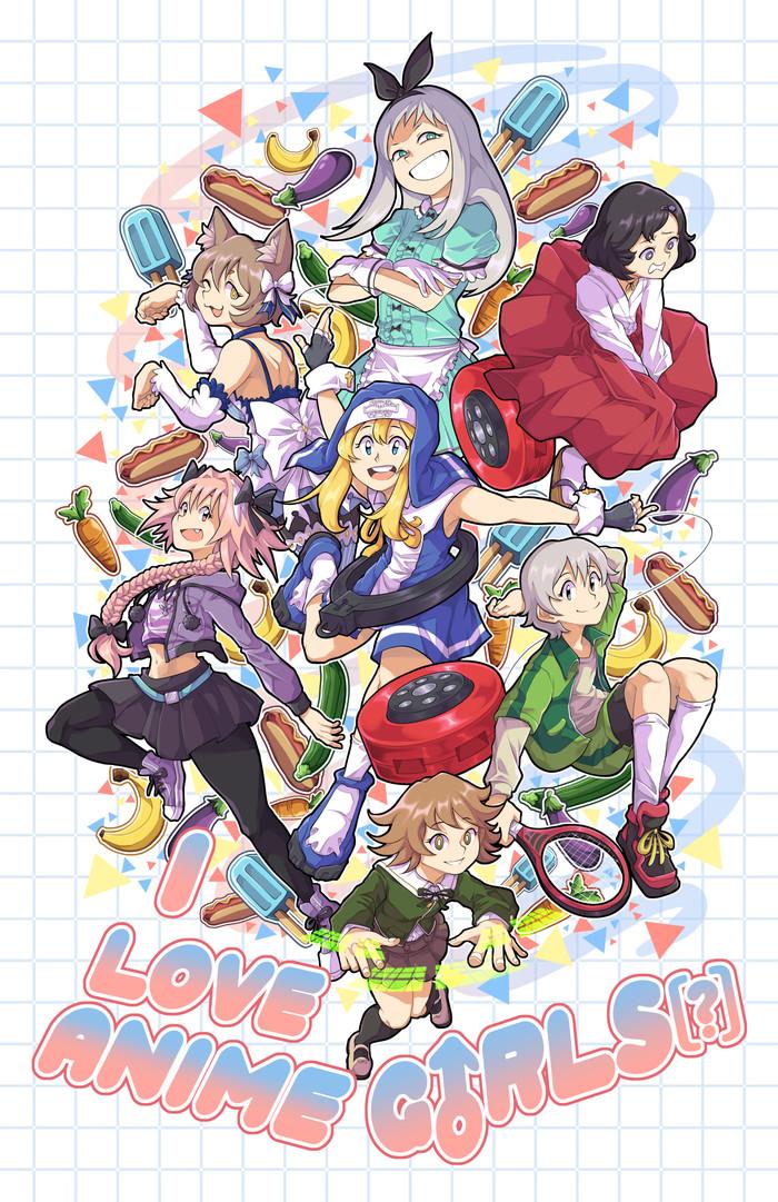 """Я люблю анимешных девочек"" Gzigzagoon, Its a trap!, Аниме, Anime Art, Арт, Anime Trap"