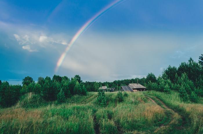 Лето в деревне Nikon, Природа, Пейзаж, Лето, Деревня, Nikon d5100, Фотография