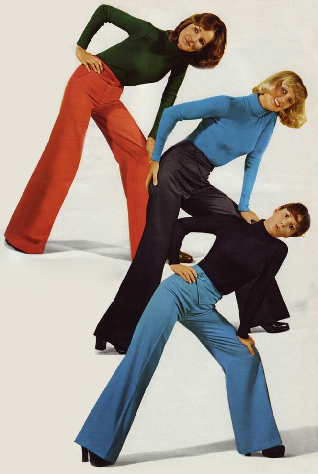 """Цикличность моды на примере брюк модели """"клеш"""" Мода, Цикл, Брюки, Длиннопост"""