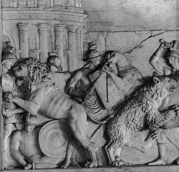 Damnatio ad bestias. Римская империя, Древний Рим, Животные, История, Античность, Видео, Длиннопост