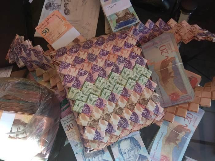 Сумка для денег из..... ДЕНЕГ! Венесуэла, Венесуэльские зарисовки, Деньги, Длиннопост, Инфляция