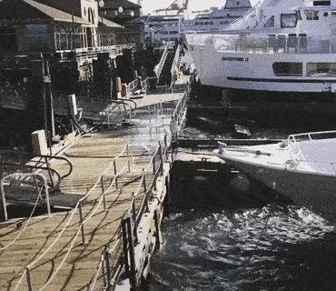 А когда на море качка ....