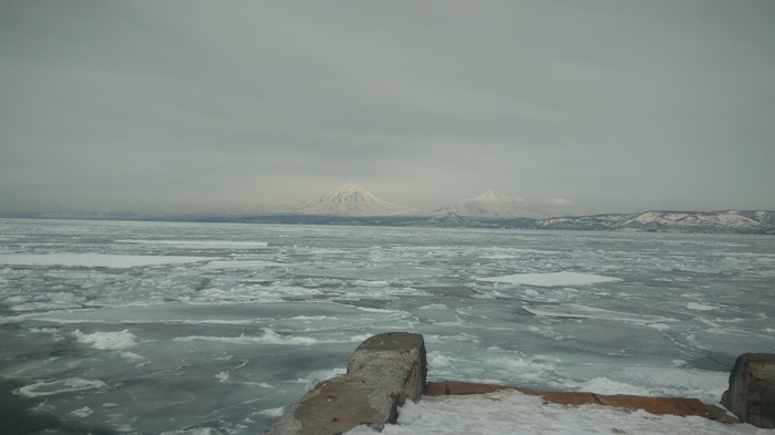 Немного неожиданно весенней Камчатки Камчатка, Снег, Лед, Весна, Длиннопост
