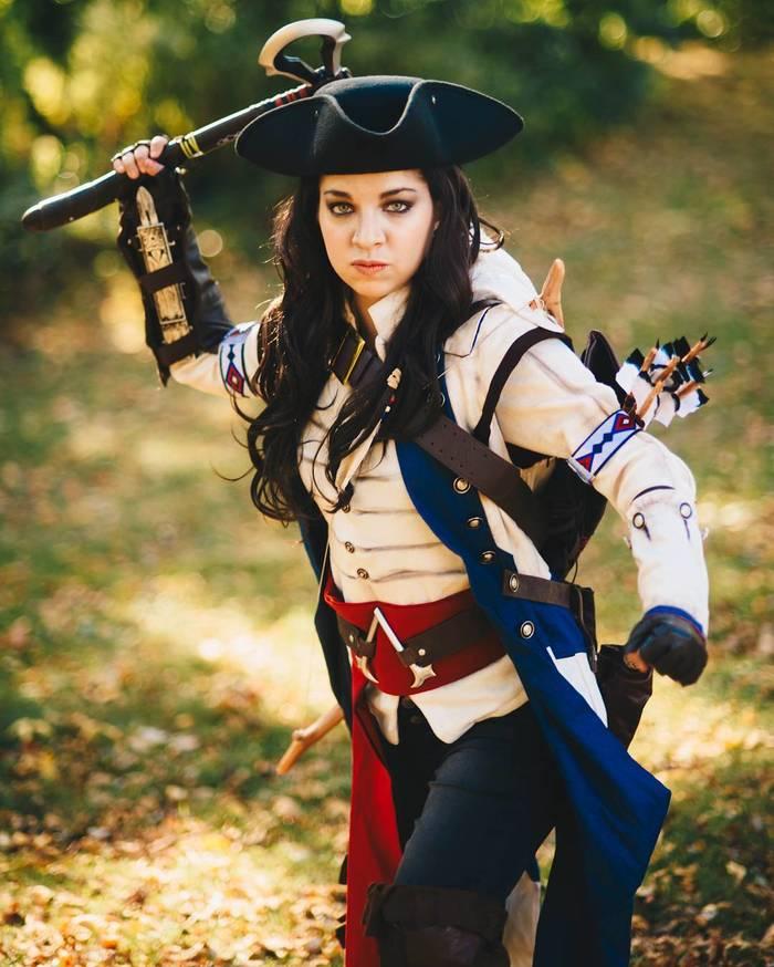 Assassins creed cosplay. Assassins Creed, Косплей, Девушки, Лук, Длиннопост