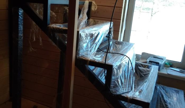 Первый личный опыт проектирования и сборки лестницы.Чертеж и схема. Проект лестницы, Монтаж лестницы, Лестница, Длиннопост