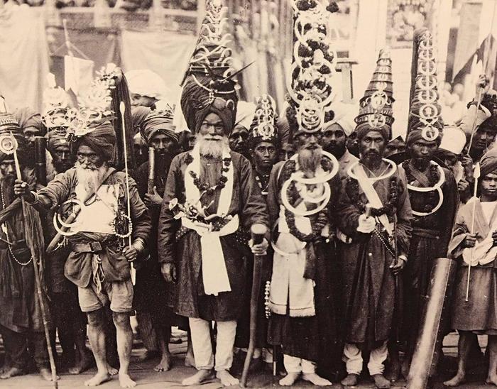 Серьёзные мужики Индия, Сикхи, Британская Индия, 20 век