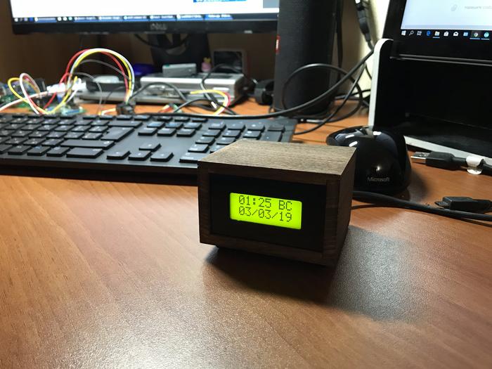 Просто часы Самоделки, Своими руками, Arduino, Часы, Дерево, Работа с деревом, Электроника, Длиннопост