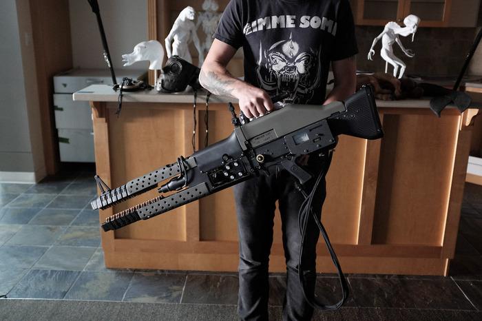Немного оружейного Оружие, Автомат Калашникова, Длиннопост