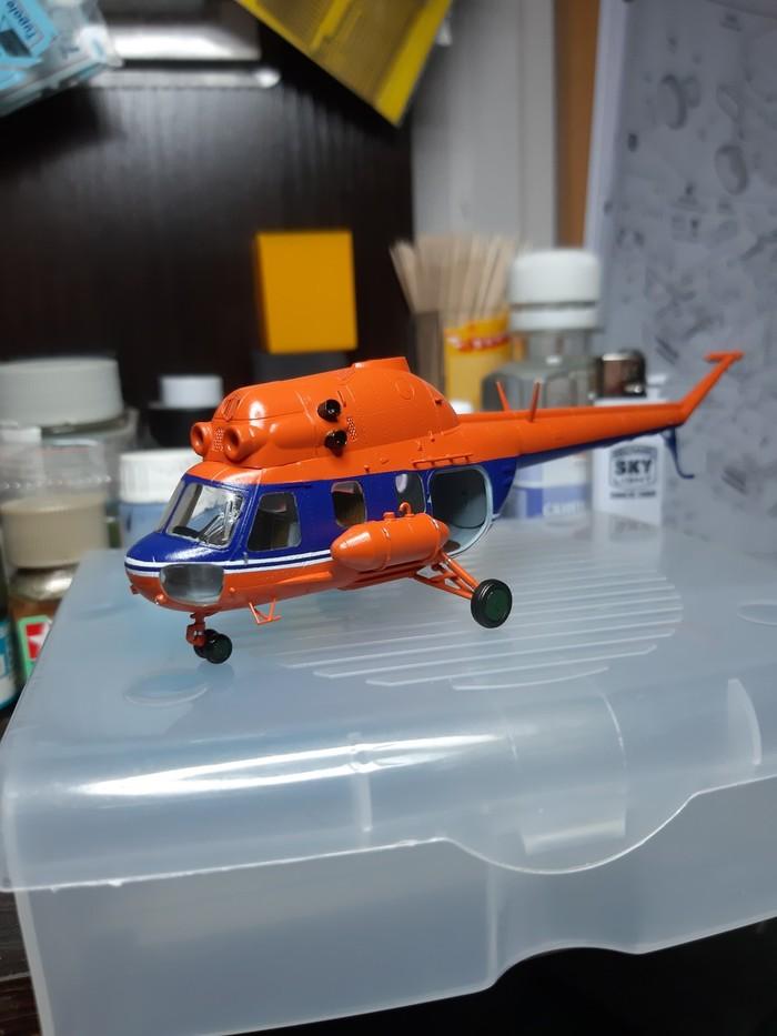 Еще один малыш Ми-2 Вертолеты России, Авиация, Гражданская авиация, Модели, Стендовый моделизм