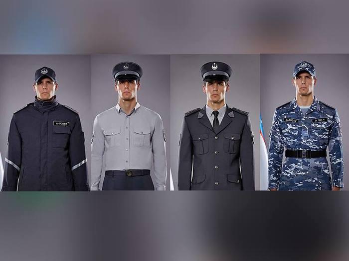 Новая форма сотрудников органов внутренних дел Узбекистана Милиция, Полиция, Форма одежды, Узбекистан, Длиннопост