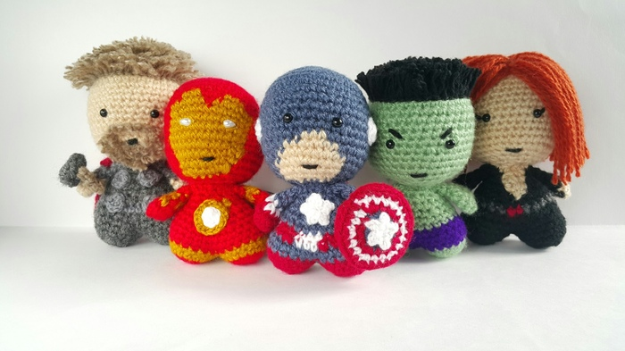 Мимистители! Мстители, Тор, Железный человек, Капитан Америка, Халк, Черная вдова, Game over, Рукоделие