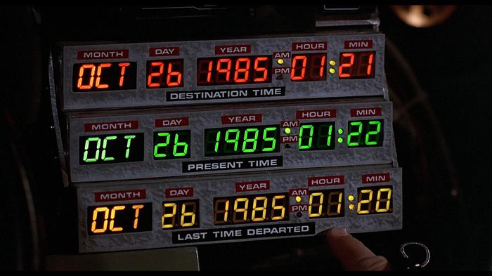 Цифровая панель из машины времени. Назад в будущее. Назад в будущее, Bttf, Delorean, Машина времени, Марти Макфлай, Arduino, Часы, Видео, Длиннопост