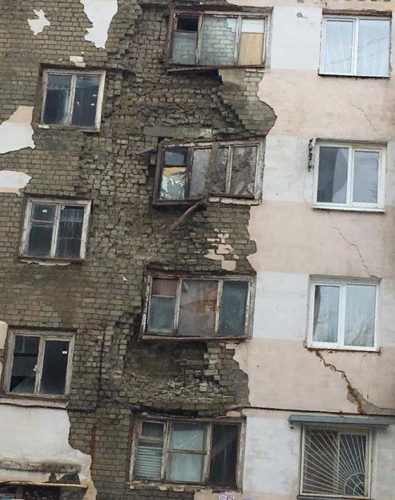 Ну ладно, аварийный! Недвижимость, Россия, Длиннопост