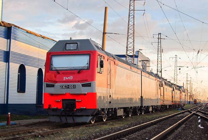 Электровоз 2ЭС7 подтвердил свои тяговые характеристики. Железная Дорога, Новости, Электровоз, 2эс7, Локомотивы