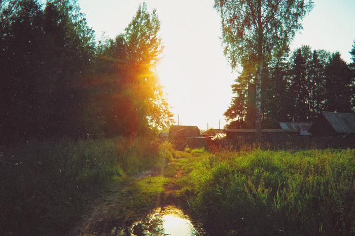 Жизнь в глубинке Фотография, Природа, Пейзаж, Россия, Деревня, Вятка