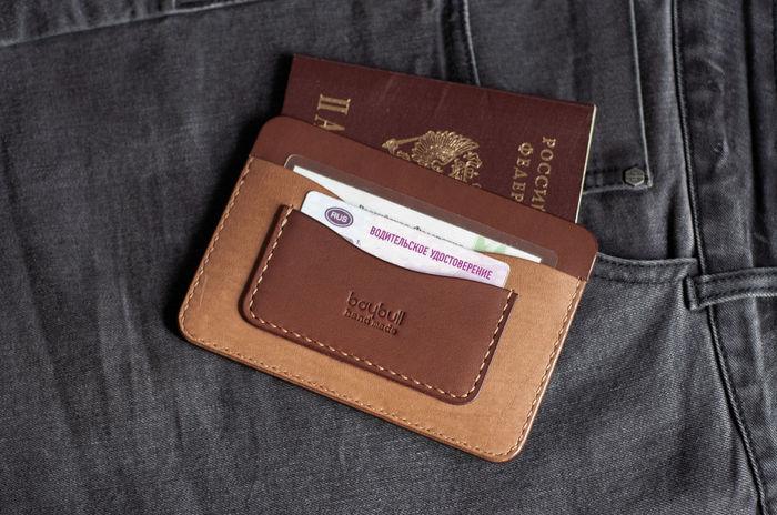 Мокко и капучино в одной обложке Коричневая кожа, Для паспорта, Для авто, Для денег, Для снилс, Для прав, Для Карт, Чехол, Длиннопост