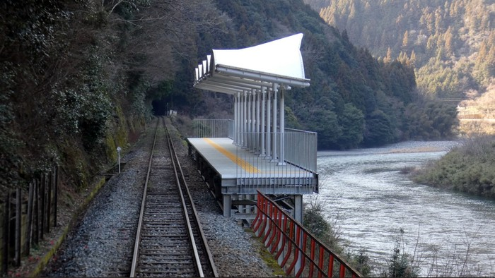 Японская остановка. Природа, Остановка, Путешествия, Япония, Фотография, Reddit