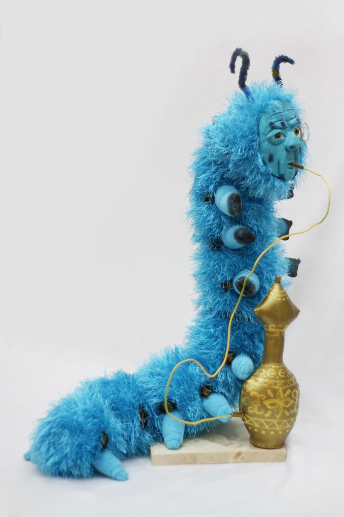 Он умный...он абсолютный....он Абсолем! Синяя гусеница, Абсолем, Авторская игрушка, Ручная работа, Рукоделие без процесса, Длиннопост
