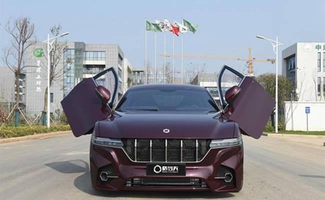Китайцы разработали водородный автомобиль с запасом хода 1000 км Китай, Водородный автомобиль, Grove, Новости, Длиннопост