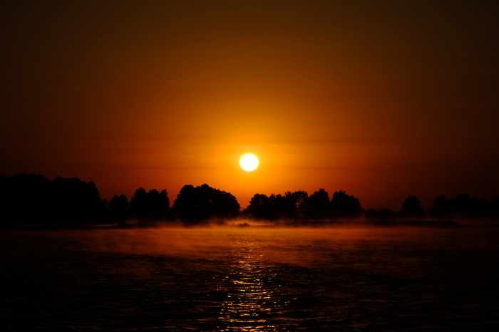 Восход на Днепре. Днепр, Восход, Солнце, Fujifilm, Fuji, Пейзаж