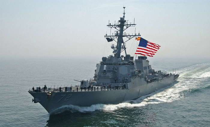 Этот грозныйDonald Cook США, Россия, Украина, Флот, Черное море, Политика