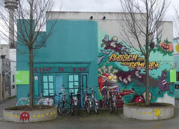 ЗоГ №68: Студенческий квартал в Мюнхене Германия, Мюнхен, Студенты, Длиннопост