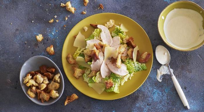 Классический Цезарь с курицей Цезарь, Салат, Вкусно, Готовим дома, Хиты, Длиннопост, Рецепт
