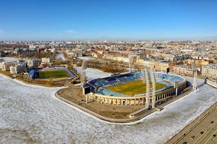 Как там Петровский ? Стадион, Петровский, Стадион Петровский, Санкт-Петербург, Аэросъемка