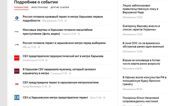 Активизировались... Украина, Политика, Новости