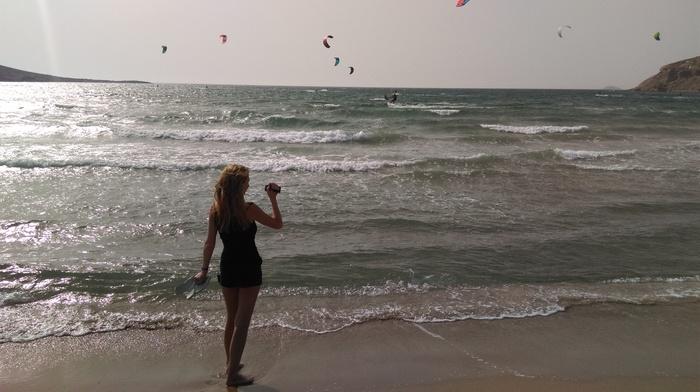 Немного лета в ленту Греция, Родос, Пляж, Лето, Длиннопост