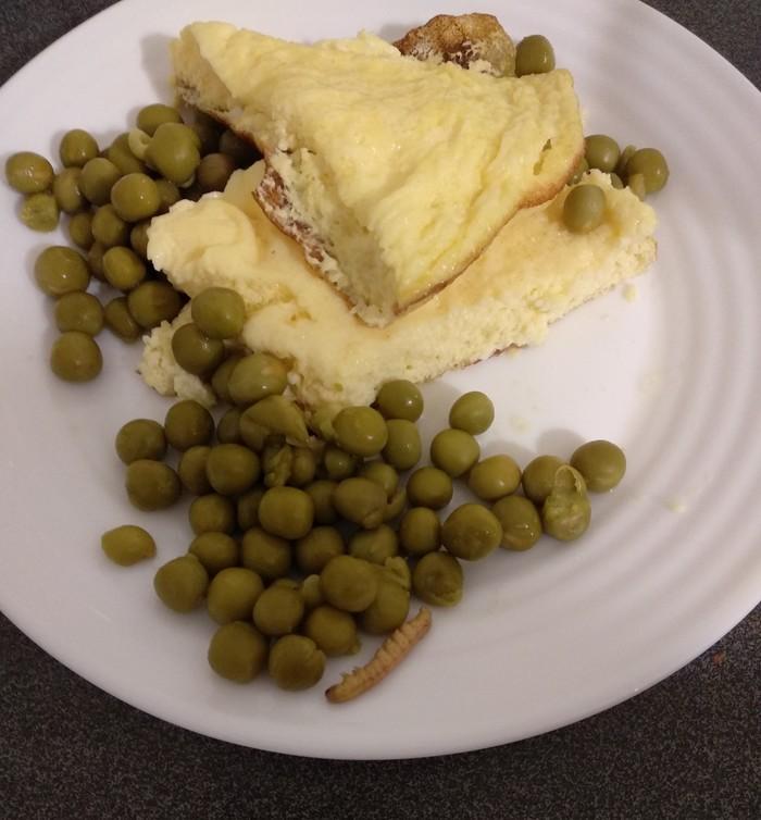 Зелёный горошек с сюрпризом. Еда, Противно, Приятного аппетита, Качество, Длиннопост
