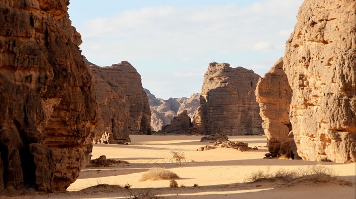 Могучие скалы и древние рисунки.Тассилин-Аджер. Африка, Алжир, Сахара, Скалы, Рисунок, Видео, Длиннопост