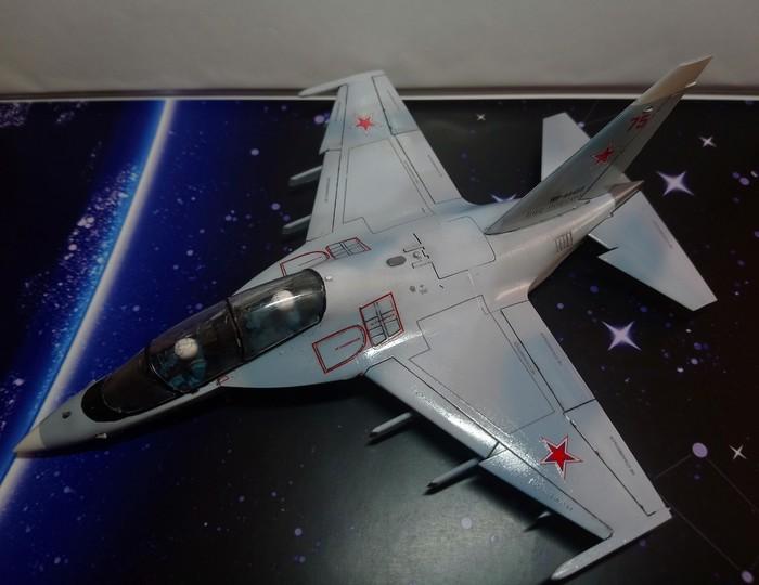 Як 130 1/72 Авиация, Звезда, Як-130, Моделизм, Масштабная модель, Длиннопост