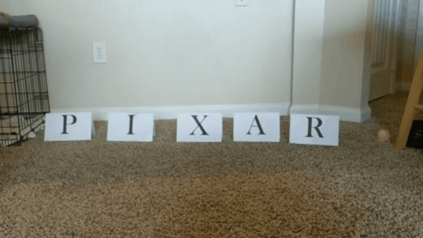 Новая заставка Pixar