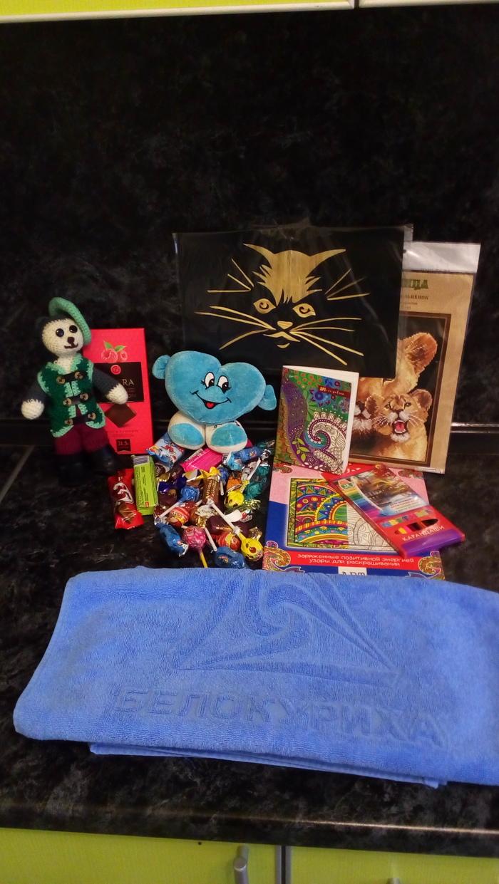 Весенний АДМ! Тайный Санта, Обмен подарками, Отчет по обмену подарками, Длиннопост