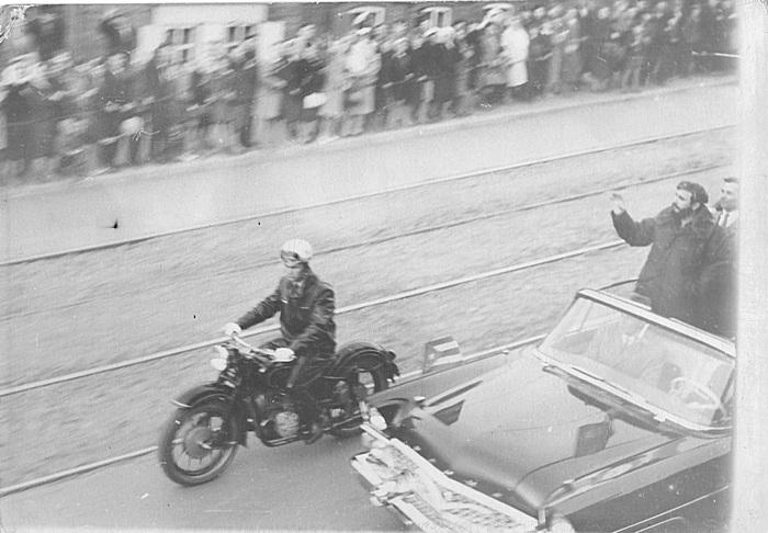 Фидель Кастро в Иркутске Историческое фото, Фидель Кастро, Газ-13 Чайка, Иркутск