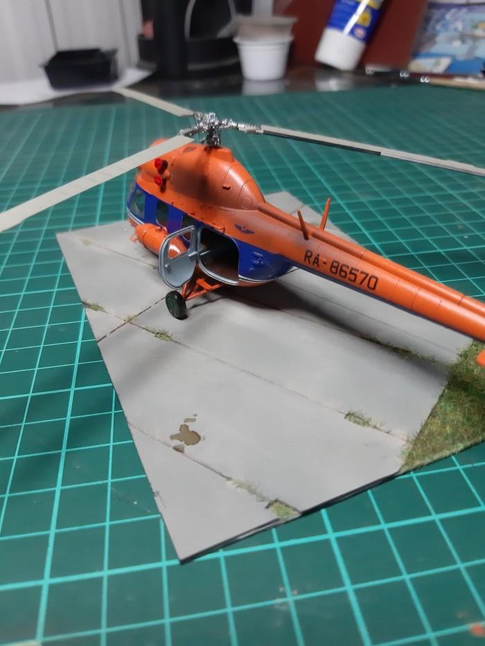 Вертолет Ми-2 Стендовый моделизм, Вертолеты России, Ми-2, Авиация, Модель, Длиннопост