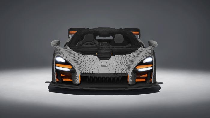 McLaren Senna из LEGO. LEGO, Mclaren, Модели, Конструктор, Длиннопост