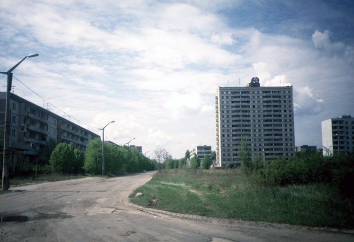Припять в мае 1994 (архив) Чернобыль, Припять, Житель Припяти, Архив, Редкие фото, Фотография, Длиннопост, 90-е