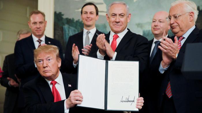 Саудовская Аравия осудила решение США по Голанам Политика, Голанские высоты, Трамп, Сирия, Израиль, Текст