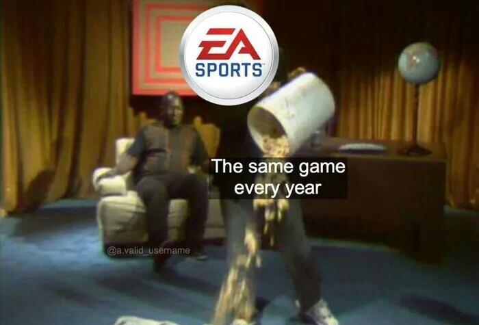 EA... Футбол, Ea games